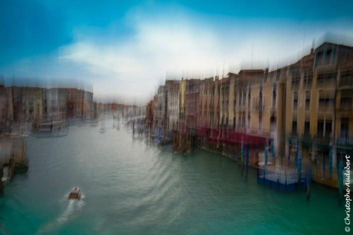 Vue du Grand Canal à Venise, Italie