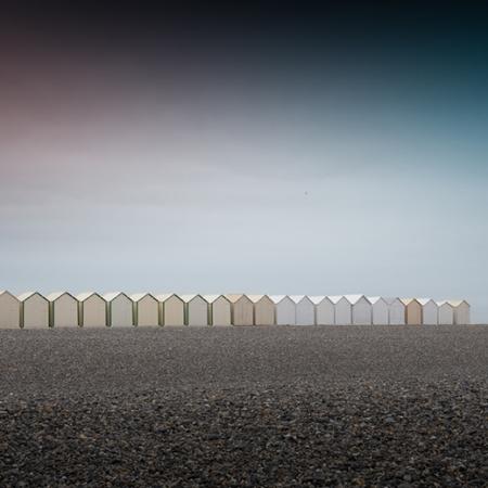 Cabines de plage Cayeux