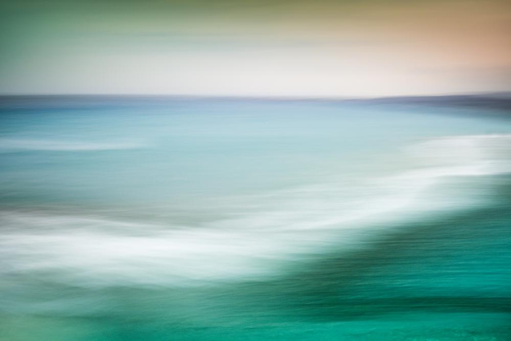 La mer près de Nice