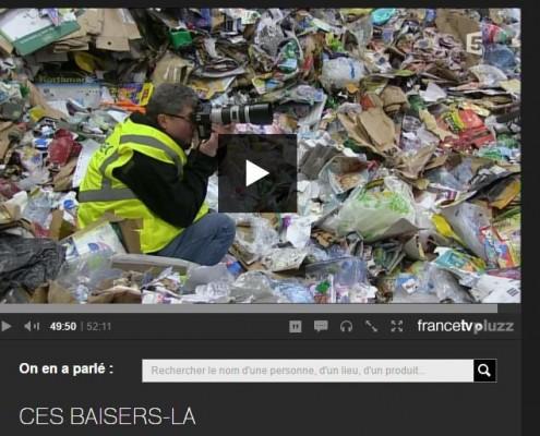 """Le photographe Christophe Audebert dans le film de Daniel Schick """"ces baisers-là"""""""