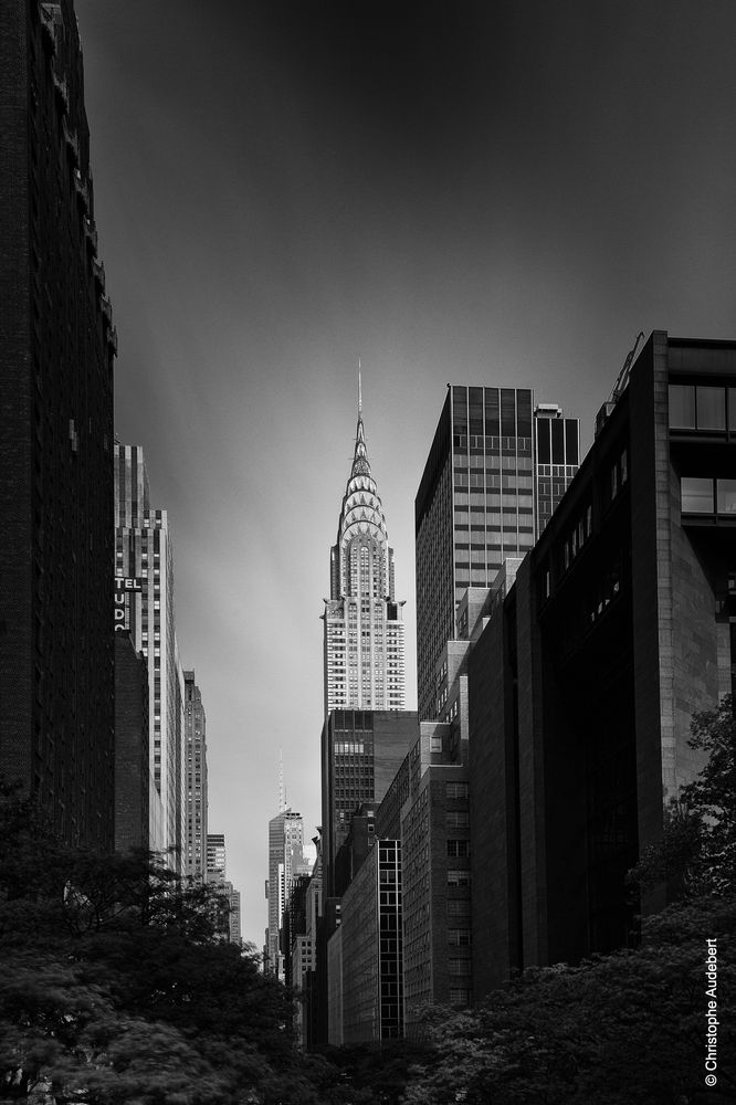 Chrysler building à New York City