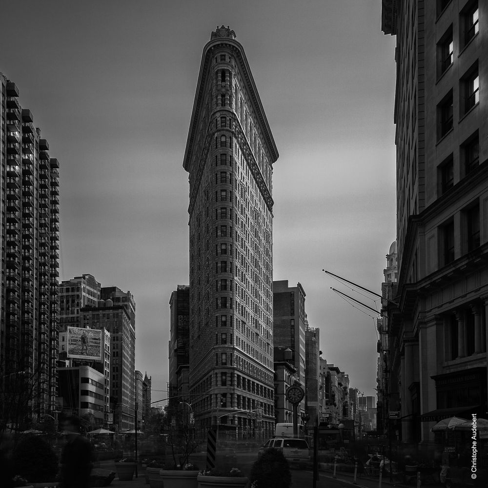 Flatiron building à New York City