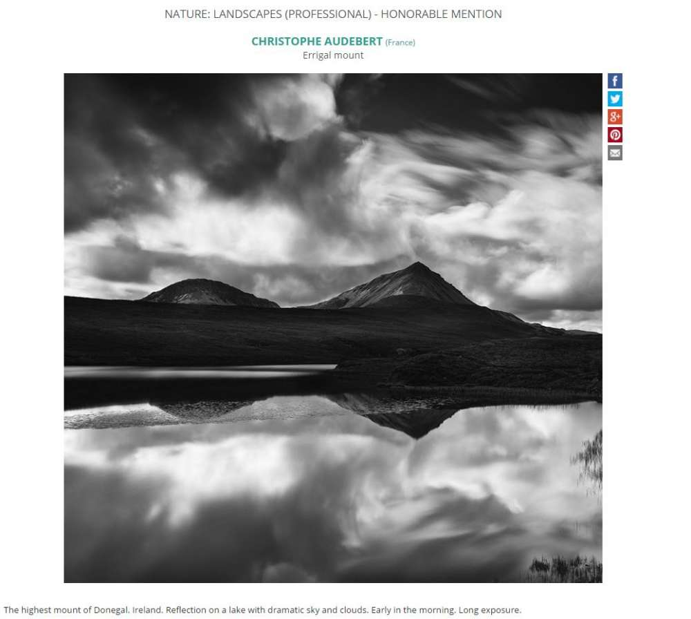 Concours IPOPY 2016 Honorable Mention Paysage