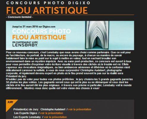 """Concours photo Digixo """"le flou artistique"""""""