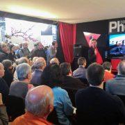 """Christophe Audebert en conférence """"pose longue"""" au Salon de la Photo"""