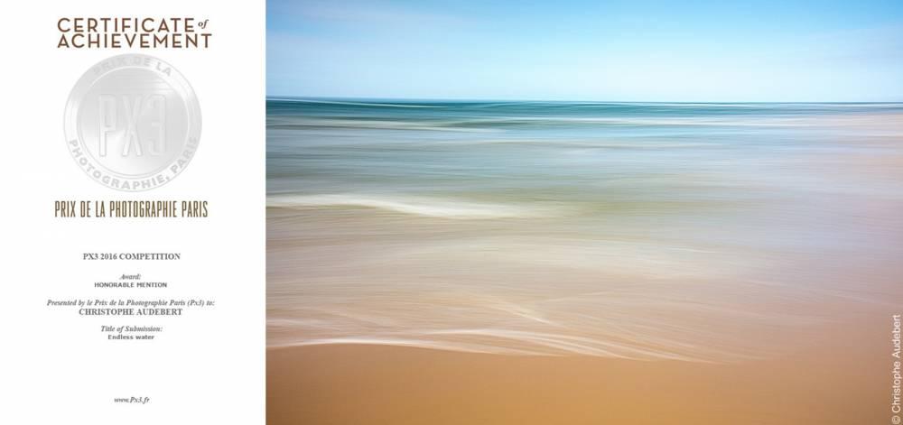 Mention honorable Endless Waters Prix de la Photographie Paris