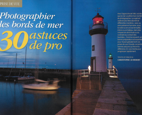 Dossier Photo bords de mer magazine Compétence Photo Juillet 2018