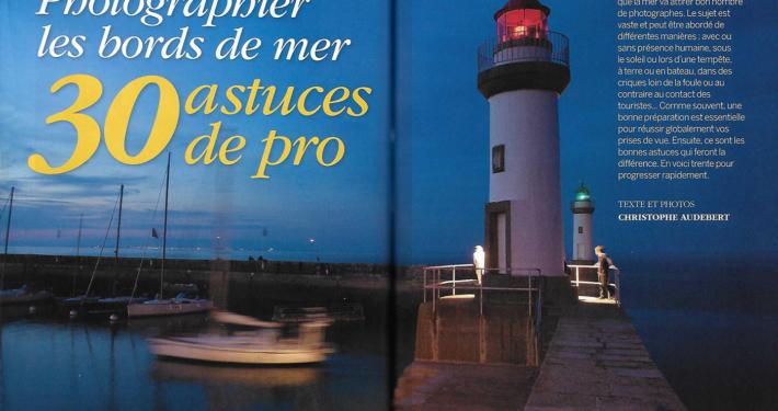Dossier Photo bords de mer magazine Compétence Photo Juillet 2018